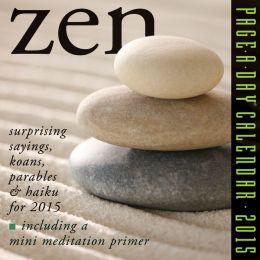 2015 Zen Page-A-Day Calendar