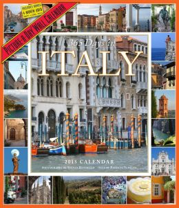 2015 365 Days in Italy Wall Calendar