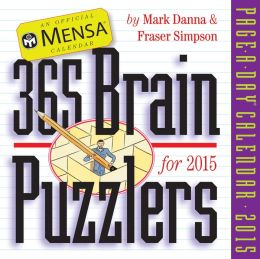 2015 Mensa 365 Brain Puzzlers Page-A-Day Calendar