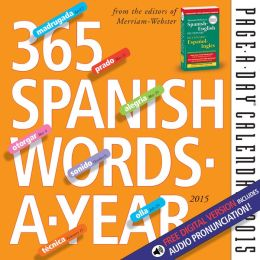 2015 365 Spanish Words-A-Year Page-A-Day Calendar