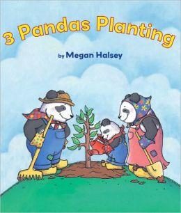 3 Pandas Planting