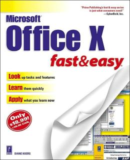 Microsoft Office XP Fast and Easy