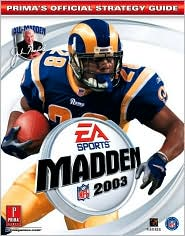 Madden NFL 2003: Prima's Official Strategy Guide