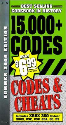 Summer 2007: Over 15,000 Secret Codes