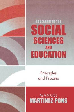 Research In The Social Sciences And Education