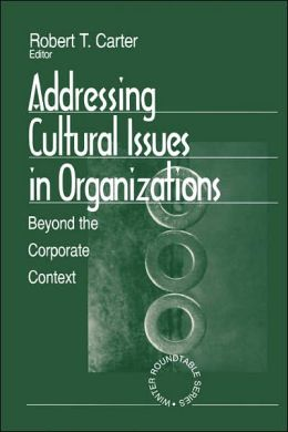 Addressing Cultural Issues In Organizations