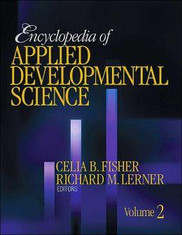 Encyclopedia of Applied Developmental Science