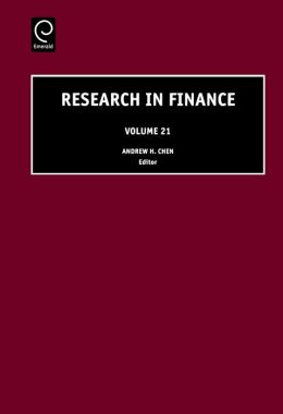 Research in Finance, Volume 21