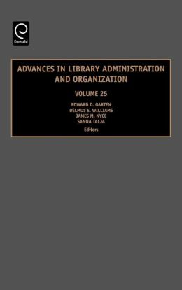 Adv in Library Admin & Org Vol 25