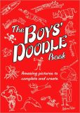 Book Cover Image. Title: The Boys' Doodle Book, Author: Andrew Pinder