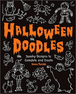 Halloween Doodles: Spooky Designs to Complete and Create