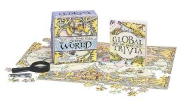 Teeny Tiny Jigsaw Puzzle: The World: Magnifying Glass Included!
