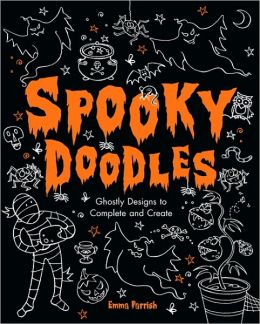 Spooky Doodles: Halloween Designs to Complete and Create