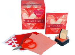 Heart Art: Paper, Stencils, and Stickers Included