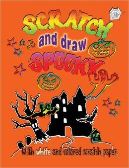 Scratch & Draw: Spooky