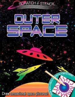 Scratch & Stencil: Outer Space