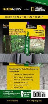Best Easy Day Hiking Guide and Trail Map Bundle: Great Smoky Mountains National Park