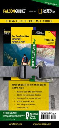 Best Easy Day Hiking Guide and Trail Map Bundle: Yosemite National Park