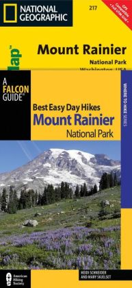 Best Easy Day Hiking Guide and Trail Map Bundle: Mount Rainier National Park
