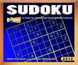 2012 Sudoku Box Calendar