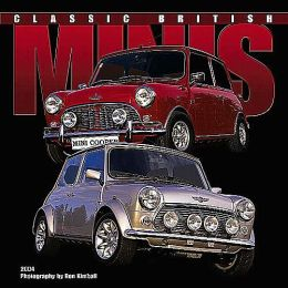 2004 Classic British Minis by Ron Kimball Wall Calendar