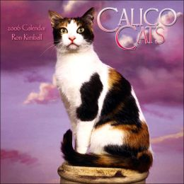 2006 Calico Cats Wall Calendar