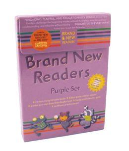 Brand New Readers Purple Set (Brand New Readers Series)