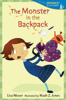 The Monster in the Backpack: Candlewick Sparks