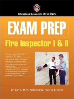Fire Inspector I and II