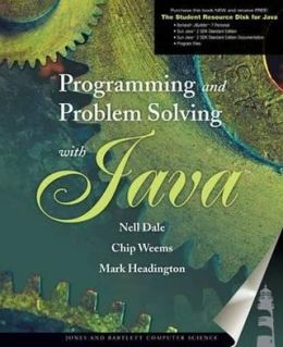 Programming and Problem Solving with Java with CDROM