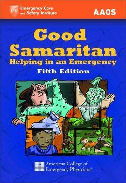 Good Samaritan: Helping In An Emergency (50 Pack)