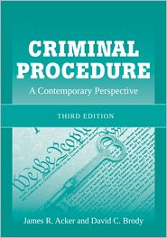 Criminal Procedure: A Contemporary Approach