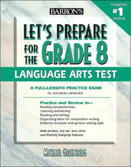 Let's Prepare for the Grade 8 Language Arts Test