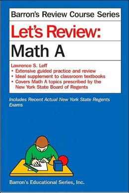 Let's Review Math A