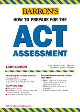 Barron's ACT: How to Prepare for the ACT