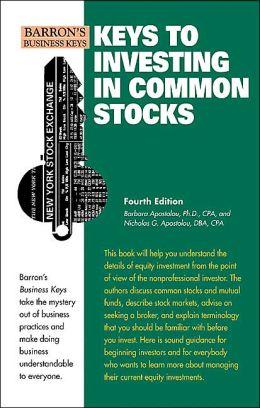 Keys to Investing in Common Stocks