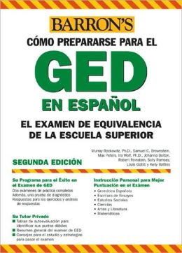 Examen de Equivalencia de la Escuela Superior, En Espanol: How to Prepare for the GED, Spanish Edition