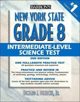 Barron's New York State Grade 8 Intermediate-Level Science Test