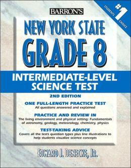 Barron's New York State Grade 8 Intermediate-Level Science Test