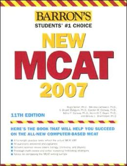 Barron's New MCAT, 2007-2008