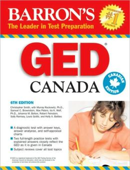 Barron's GED Canada: High School Equivalency Exam