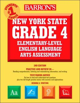 Barron's New York State Grade 4 Elementary-Level English Language Arts Test