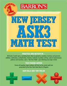 Barron's New Jersey ASK3 Math Test