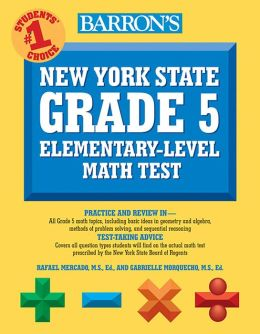Barron's New York State Grade 5 Math Test