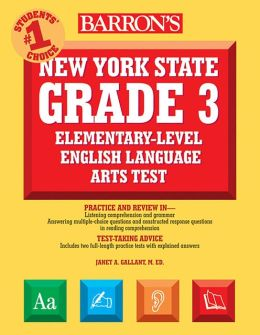 New York State Grade 3 English Language Arts Test