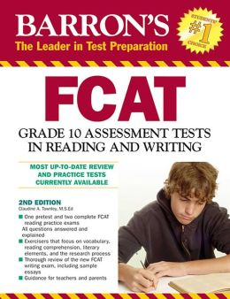 FCAT Grade 10 Assessment Tests in Reading and Writing