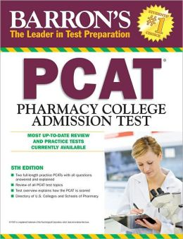 Barron's PCAT, 5th Edition