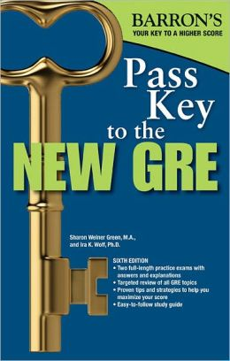 Pass Key to the New GRE, 6th Edition