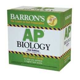 Barron's AP Biology: 500 Flash Cards
