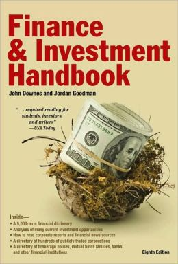 Barron's Finance and Investment Handbook